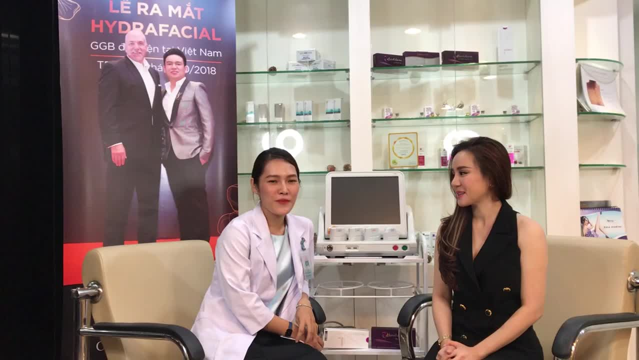 Ca sĩ Vy Oanh chia sẻ về Ultherapy